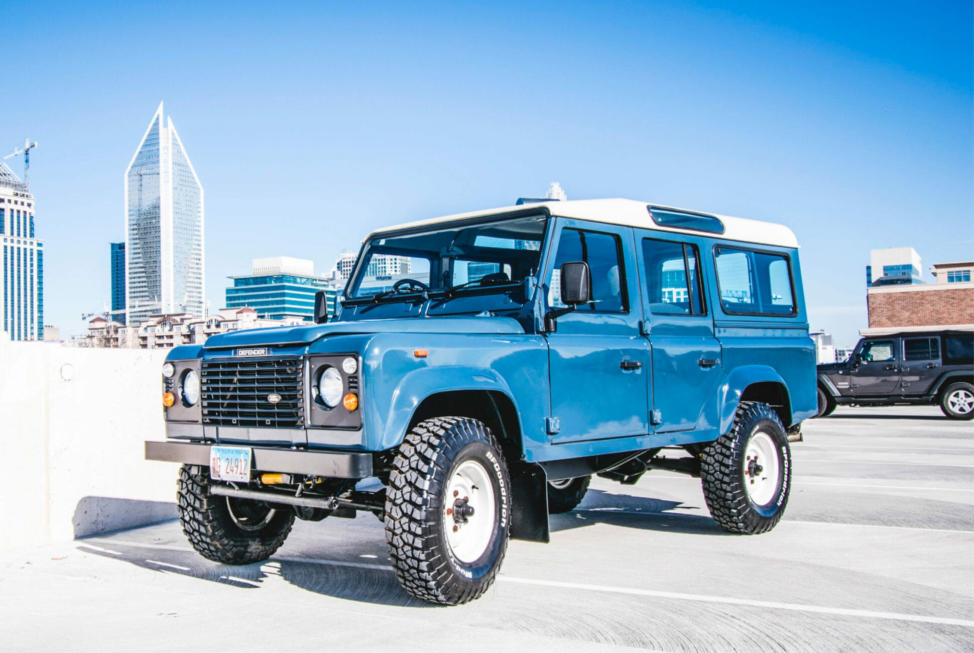 There Is No Substitute for an Old Land Rover Defender, and