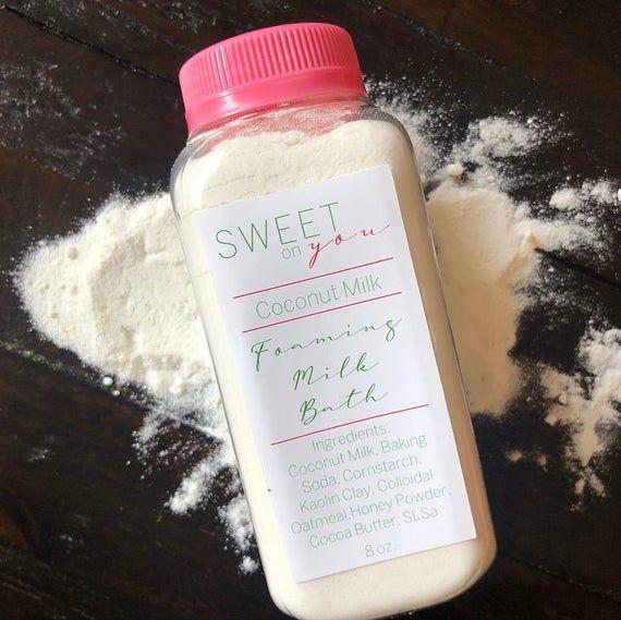 Foaming Milk Bath, Coconut Milk, Milk and Honey, Bath & Body, Foaming Bath, Skincare, beauty, Bodyca #milkbath