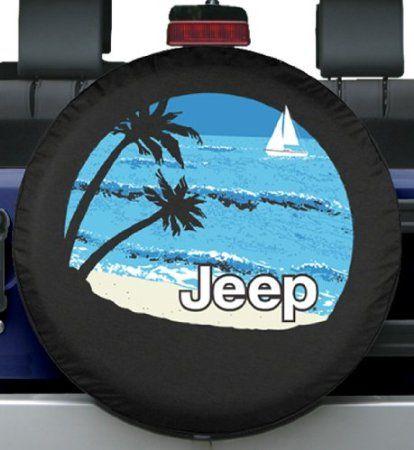 32 33 Premium Jeep Tire Cover Beach Design Fits Jeep Wrangler