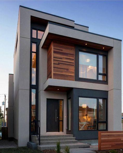 Pin de alondra paola diaz tellez en la casas modernas for Fachadas de casas modernas en la ciudad