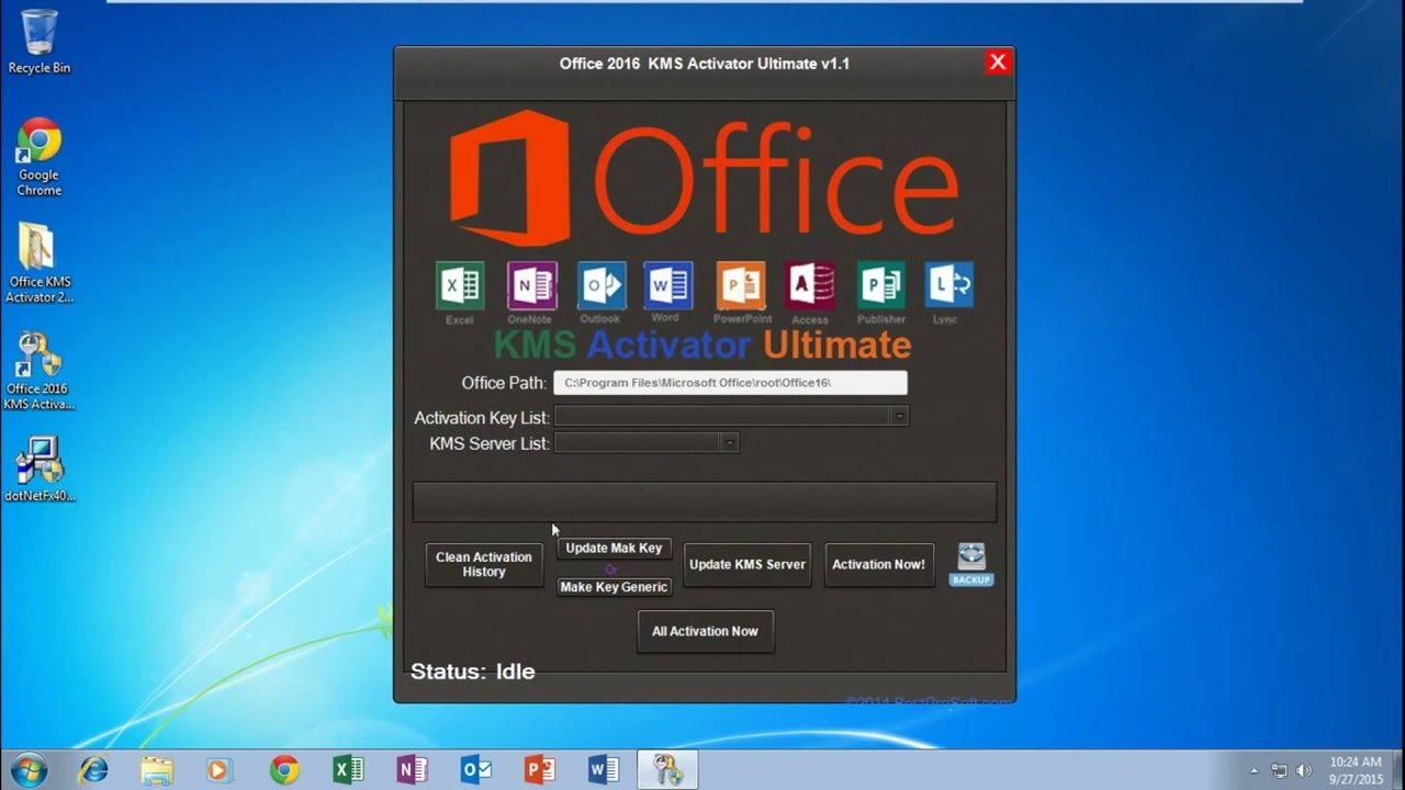 How To Activate MS Office 2016 Offline Activator For MS