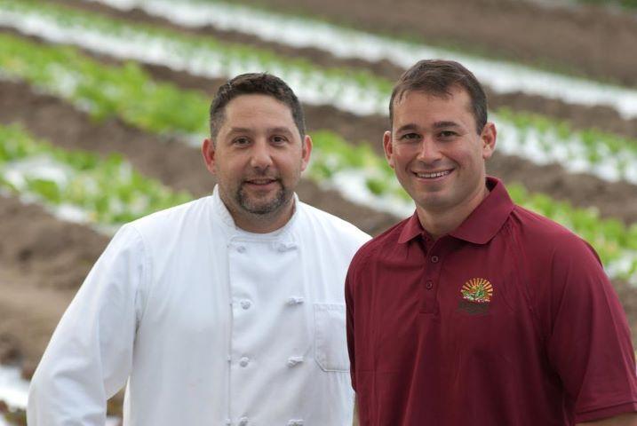 Chef Christopher DeStefano and Michael Marini