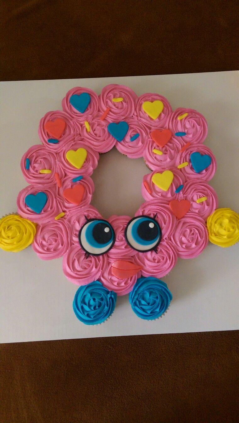 Shopkins Dlish Donut Pull Apart Cupcakes My Cakes Pinterest