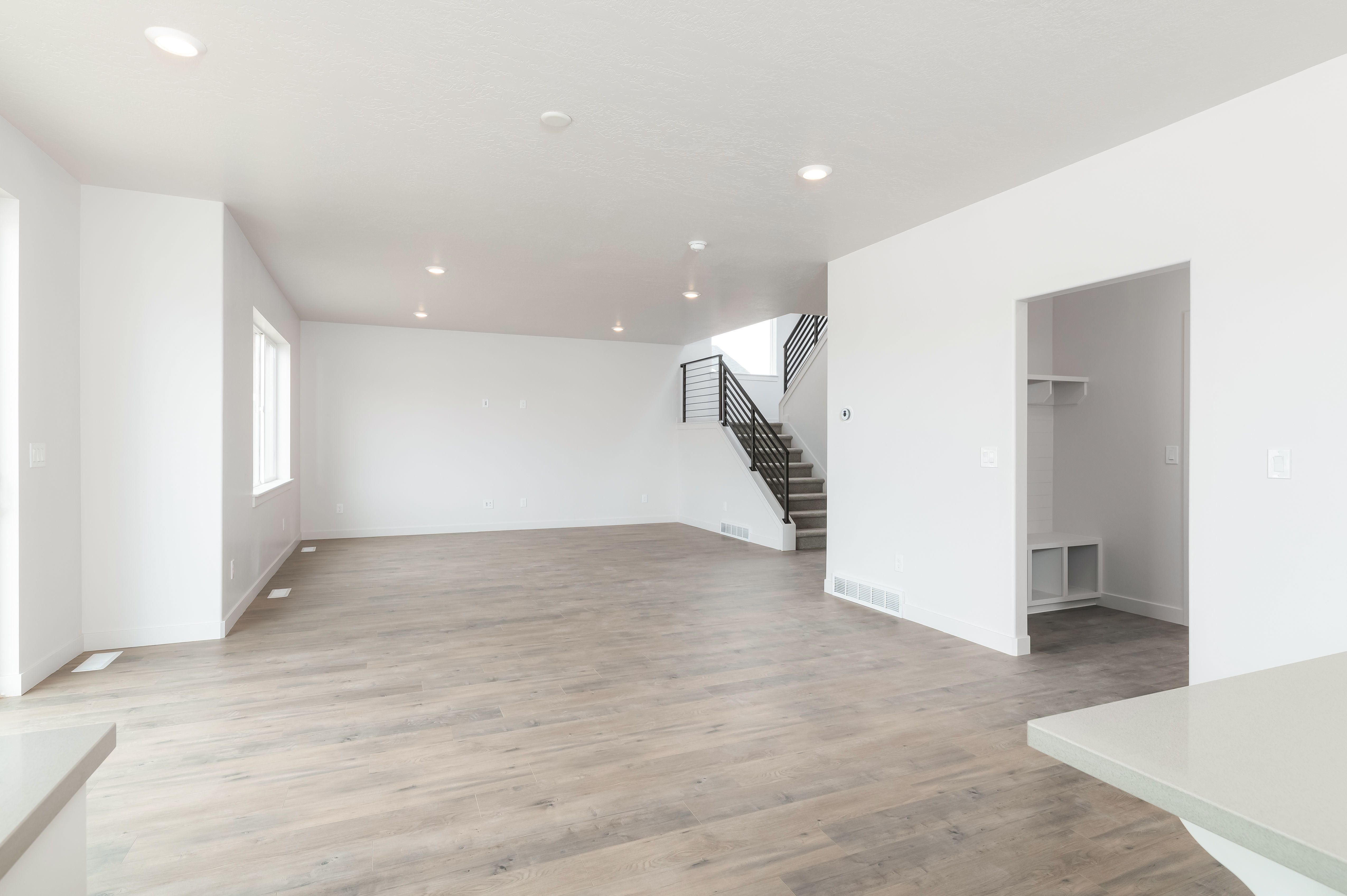 A new home is a blank canvas. How would you transform this