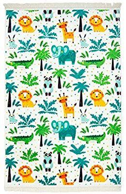 carpet city KinderTeppich Flachflor Polyester Waschbar
