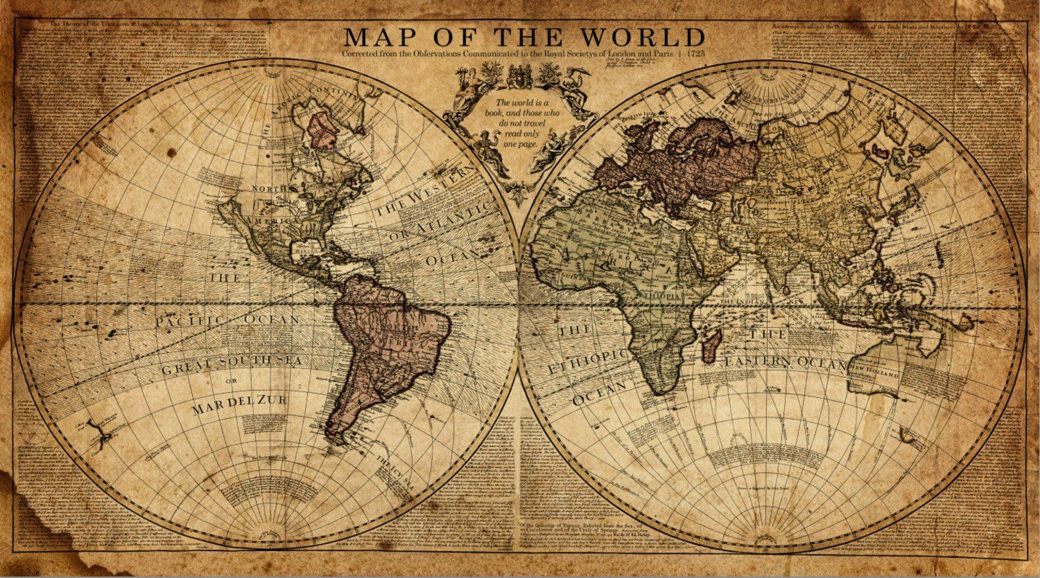Vintage World Map Art.Globe Tan Map World Map Canvas In 2019 Do This Yourself World