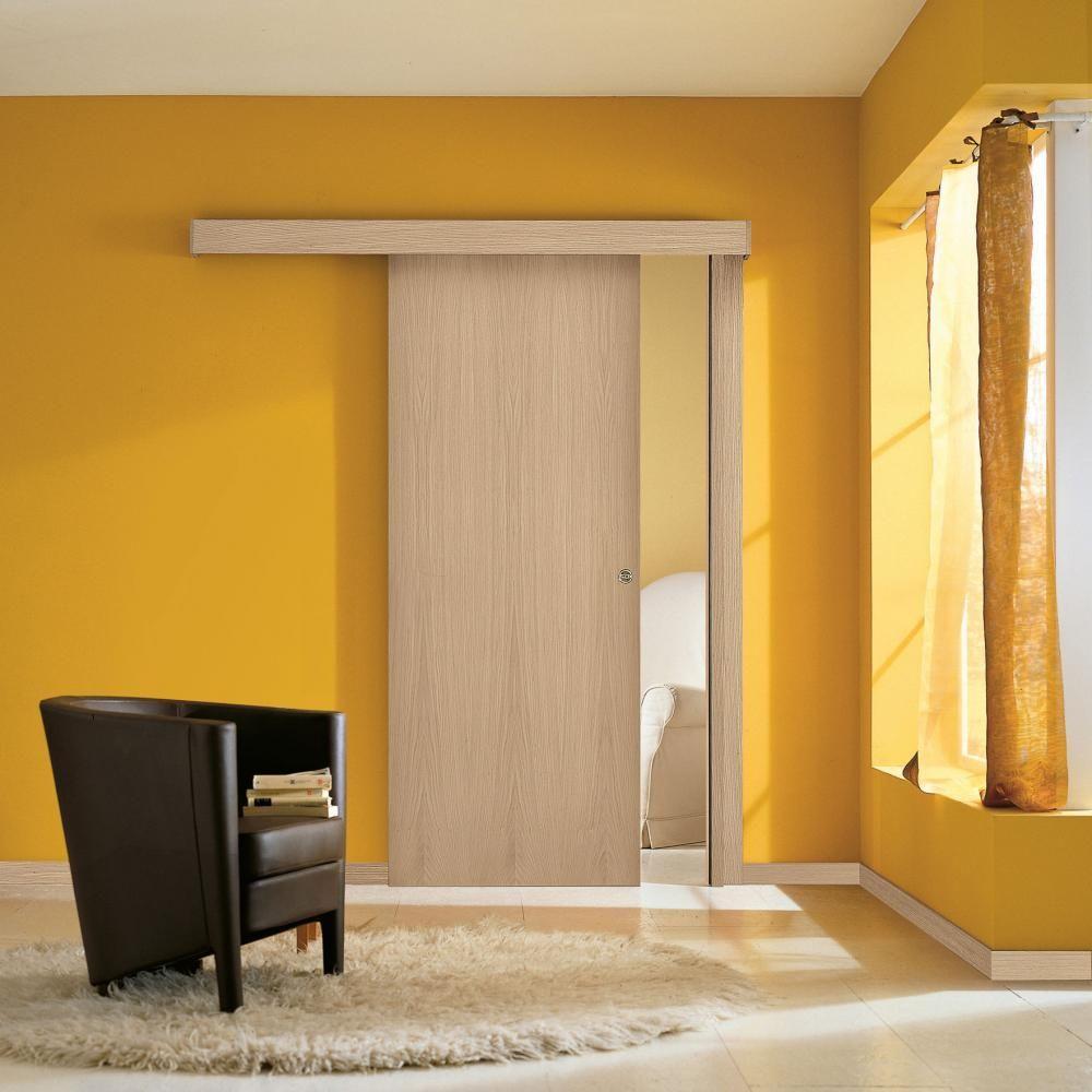 Porta scorrevole esterno muro home tall cabinet storage home decor e doors - Porte scorrevoli da esterno ...