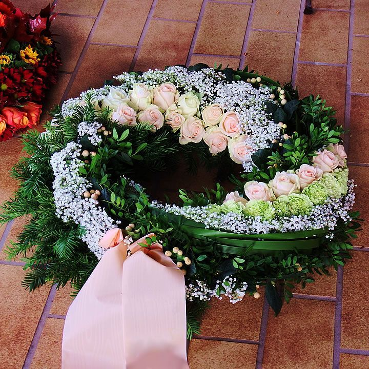 Photo of Funeral floristry – gardening and landscaping Gärtnerei Bock #grabgestaltungaller …