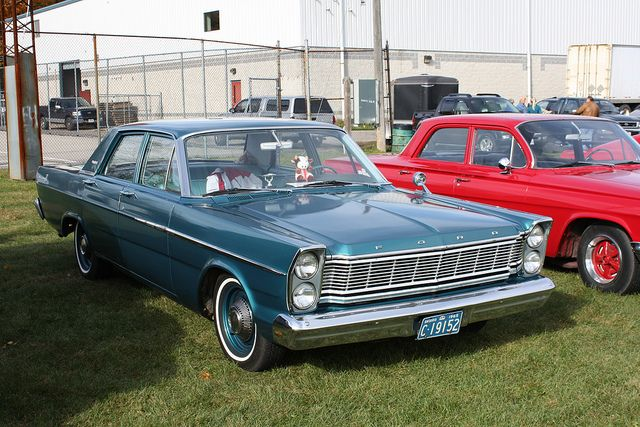 Next Up Was A 1965 Ford Custom This Is Actually A Custom 500