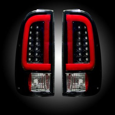 New Model Recon Smoked Led Tail Lights 08 16 Powerstroke 6 4l 6 7l Powerstroke Led Tail Lights Tail Light