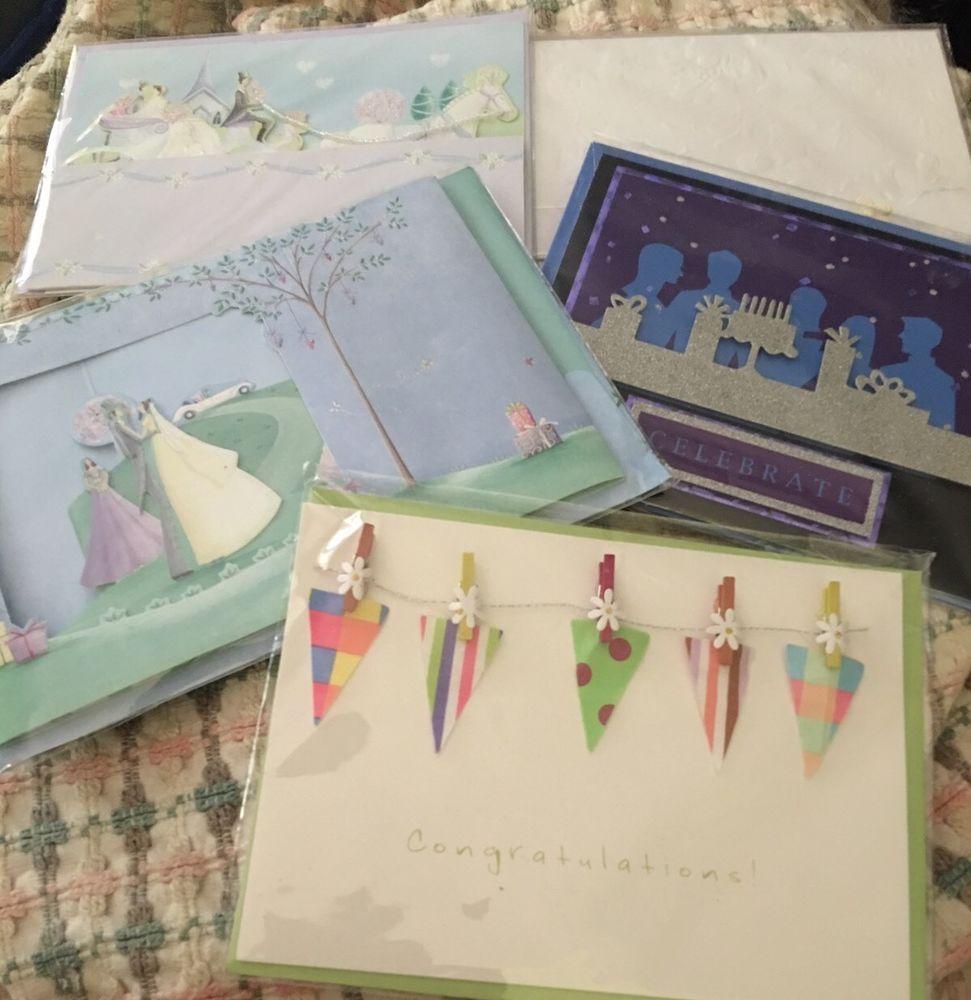 5 paper magic group burgoyne 3d new sealed greeting cards 5 paper magic group burgoyne 3d new sealed greeting cards celebrate weddings kristyandbryce Images