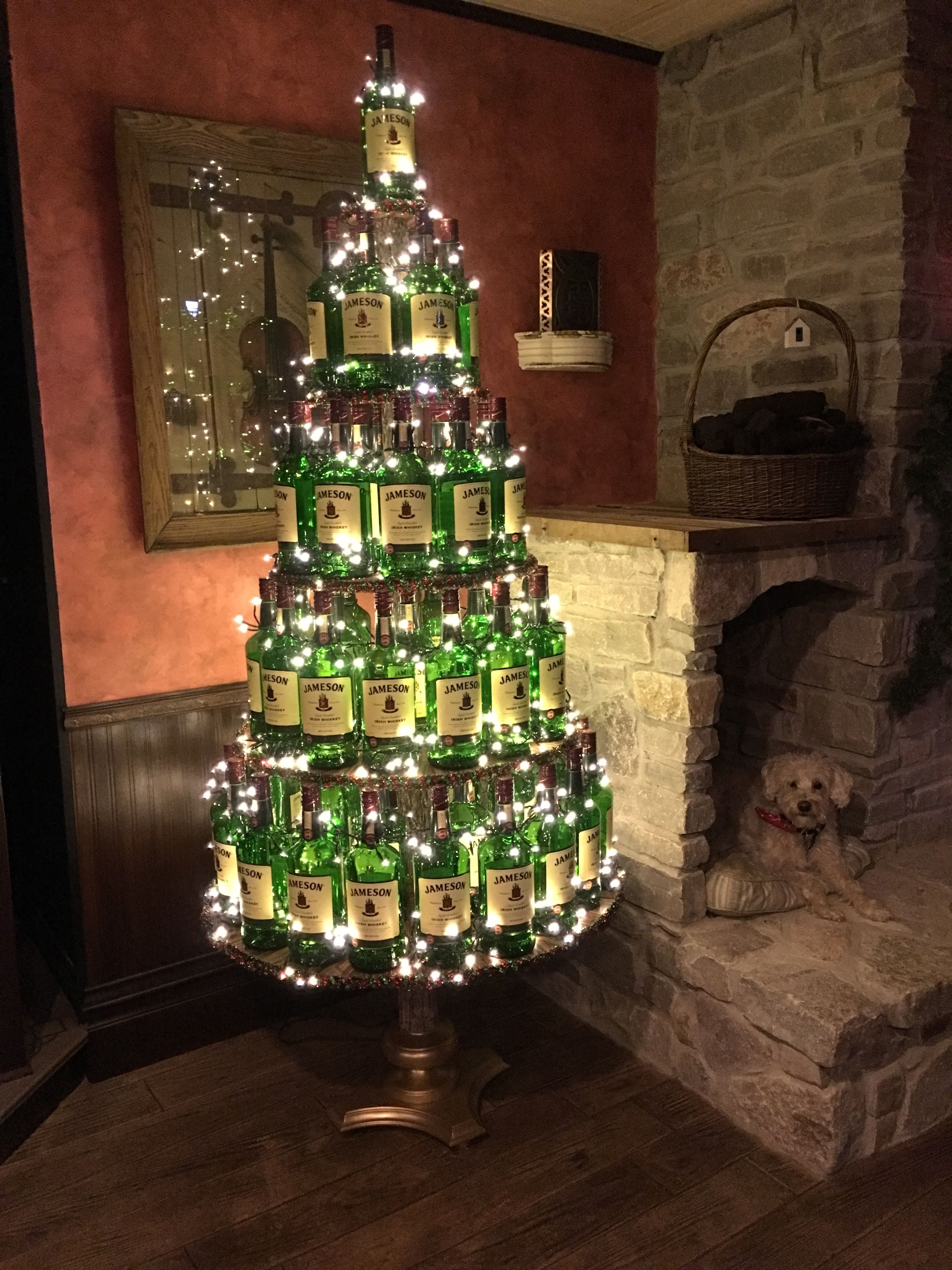Jameson Christmas Tree Irish christmas, Corner christmas