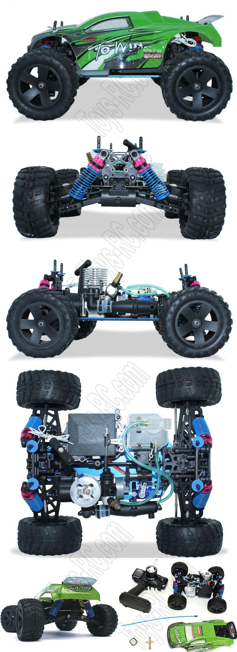 Victory hawk 1 16 vh l16 drifting rc big monster nitro gas truck http