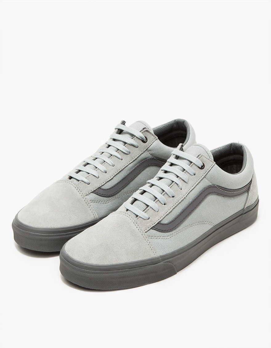 Vans Old Skool High Rise Grey Sneakers