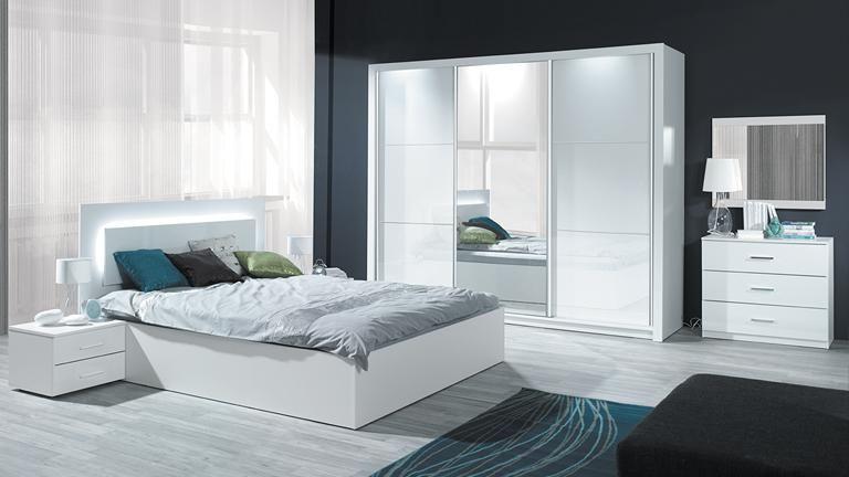 Chambre adulte complète LISA coloris chêne vulcano et gris: http ...