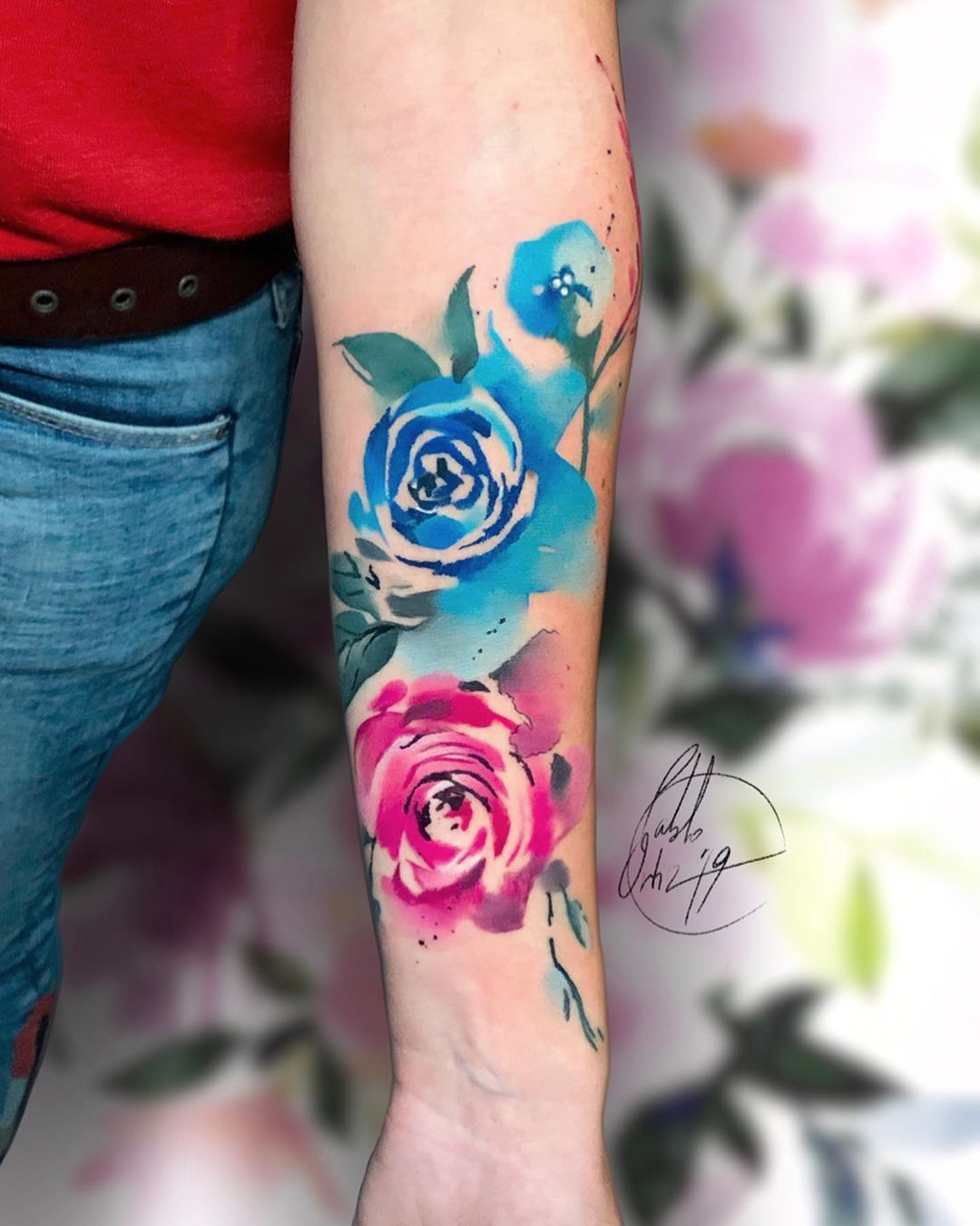 Yin  Yang  .... ⏪⏪⏪ SWIPE & SHARE! ⏪⏪⏪...Done in @la_rosa_muerta ..▪️ #avantgardetattoo ▪️......#pabloortiztattoo #watercolortattoo #pabloortiz #tattooed #tattooart #watercolortattoos #tattoos #flower #watercolortattoos #tattoomodel #barcelona #flowertattoo #love #watercolorflower #flowerwatercolor  @arts.hub @thebesttattooartists @inkpplcom @worldtattoogallery @tattooarmada @devine.tatts @tattoosocial @ink.tatts @thinkbeforeuink @txttoo @thebestspaintattooartists @tattoomediaink @tattrx  @colou