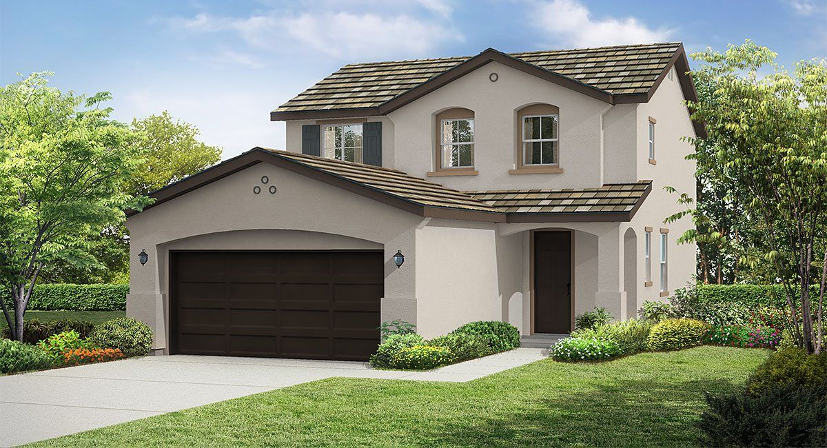 Residence Two New Home Plan In Rosena Ranch: Sage