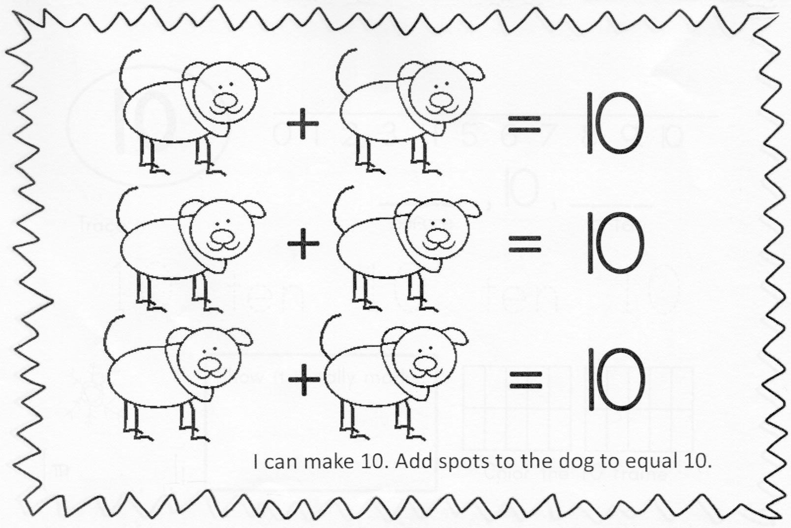 Decomposing Numbers Less Than Or Equal To 10