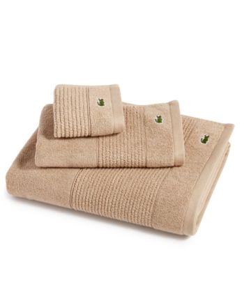 Lacoste Legend Supima Cotton Bath Towel Collection Reviews