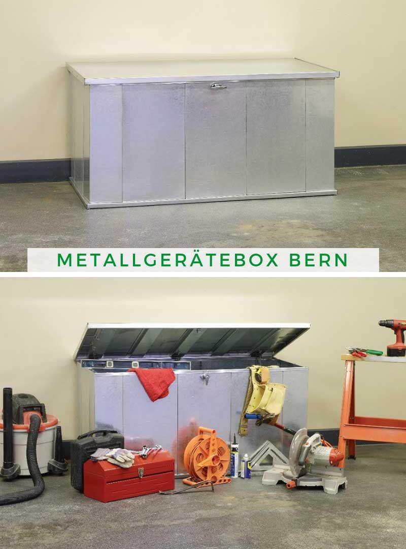 Arrow Metallgeratebox Bern 338203 Aufbewahrung Garten Aufbewahrung Schrank Aufbewahrung