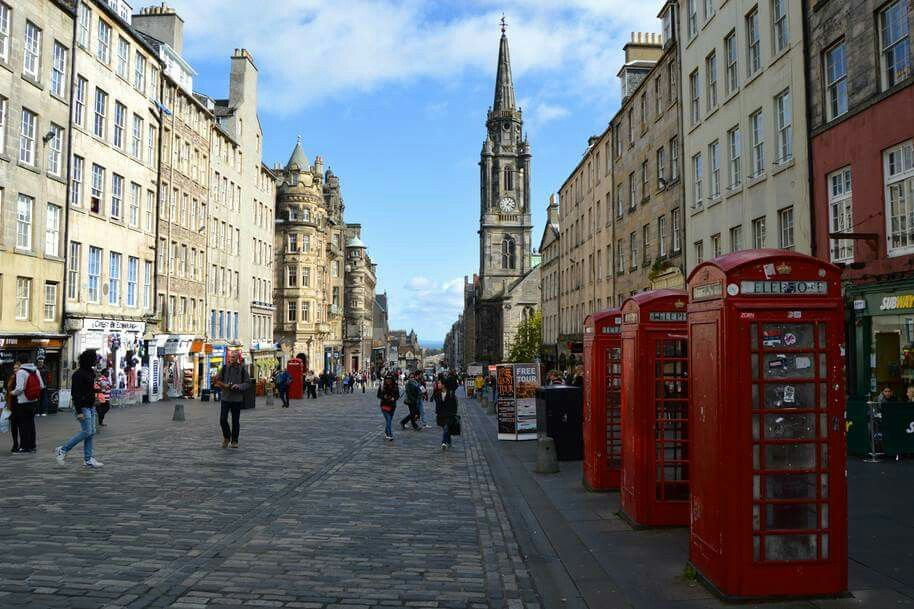 Royal Mile , Edinburgh