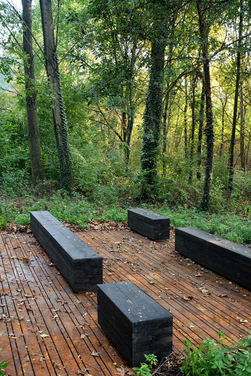 Archiplan Studio Diego Cisi E Stefano Gorni Silvestrini Architetti Valorizzazi Landscape Architecture Plan Landscape Architecture Park Landscape