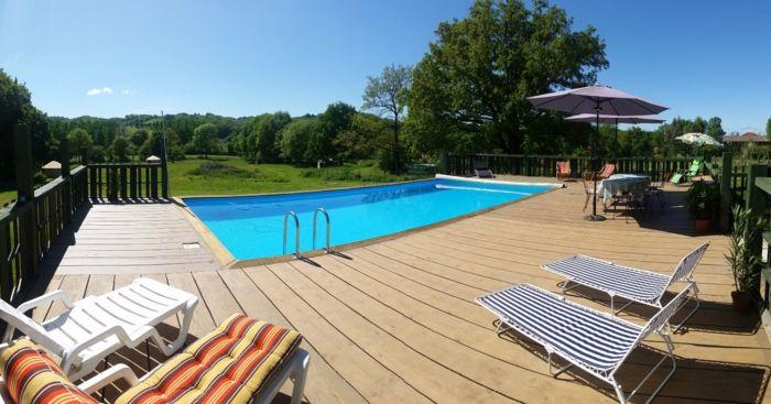 Gartenideen Schwimmbad Und Passende Möbel Machen Den Sommer Toll