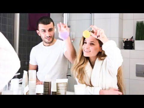 Hjemmespa med Gilan og Farid - testing av nye produkter! - YouTube