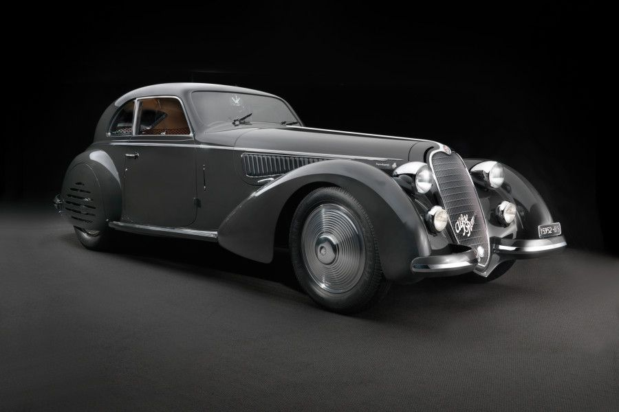 1938 Alfa Romeo Tipo 8C 2900B Berlinetta, Touring