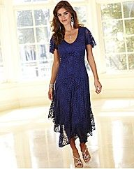 21ecbdd979ec Joanna Hope Petite Lace Dress   Fifty Plus   Wedding outfits ...