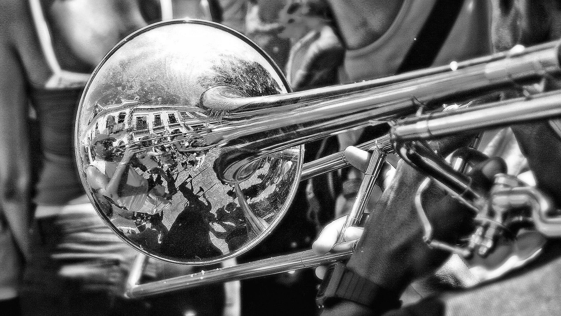 Hd Trombone Wallpaper Trombone Trombone Music Musical Band