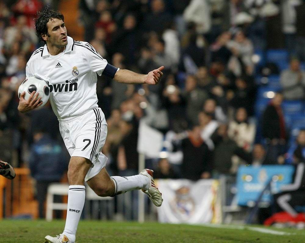 Raúl Spain Real Madrid Schalke 04 Al Sadd New York Cosmos Raul Gonzalez Blanco Futbol Soccer Fútbol