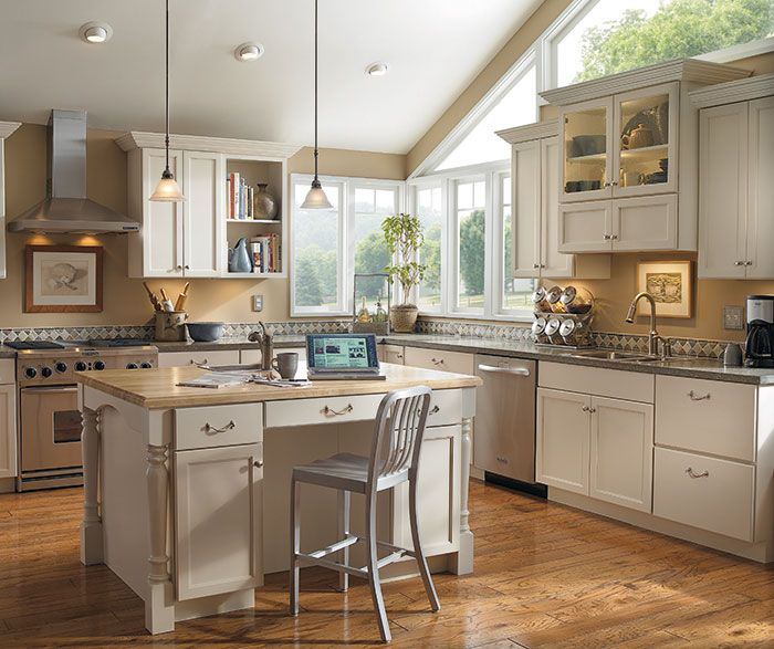 Kitchen Ideas With Off White Cabinets: #Kitchen #cabinetry #ideas And #inspiration! Be Inspired