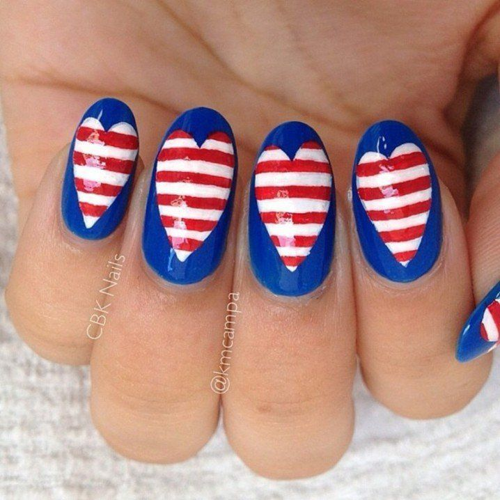 The Best 4th July Nail Art Designs for Some Fun DIY time with Your ...