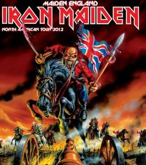 Maiden England World Tour begins in Charlotte on June 21st!