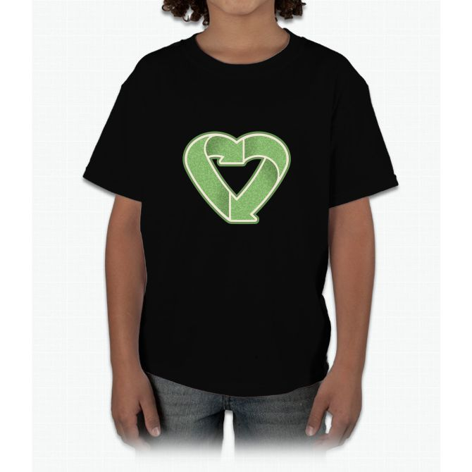 Recycling Is Love Young T-Shirt