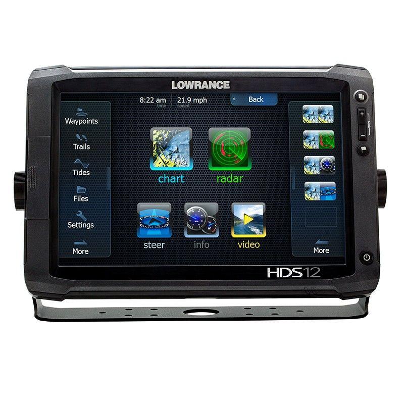 HDS 12 Touch Le plus large écran jamais conçu par LOWRANCE