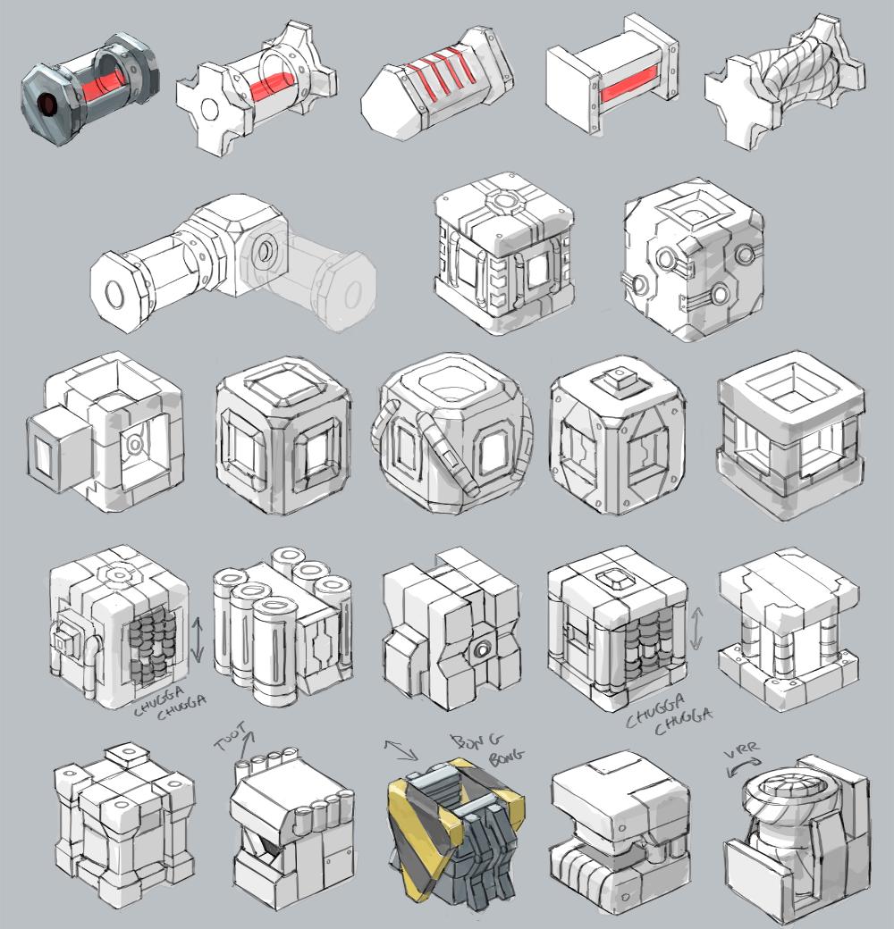 Loot Box Concept Art Google Search