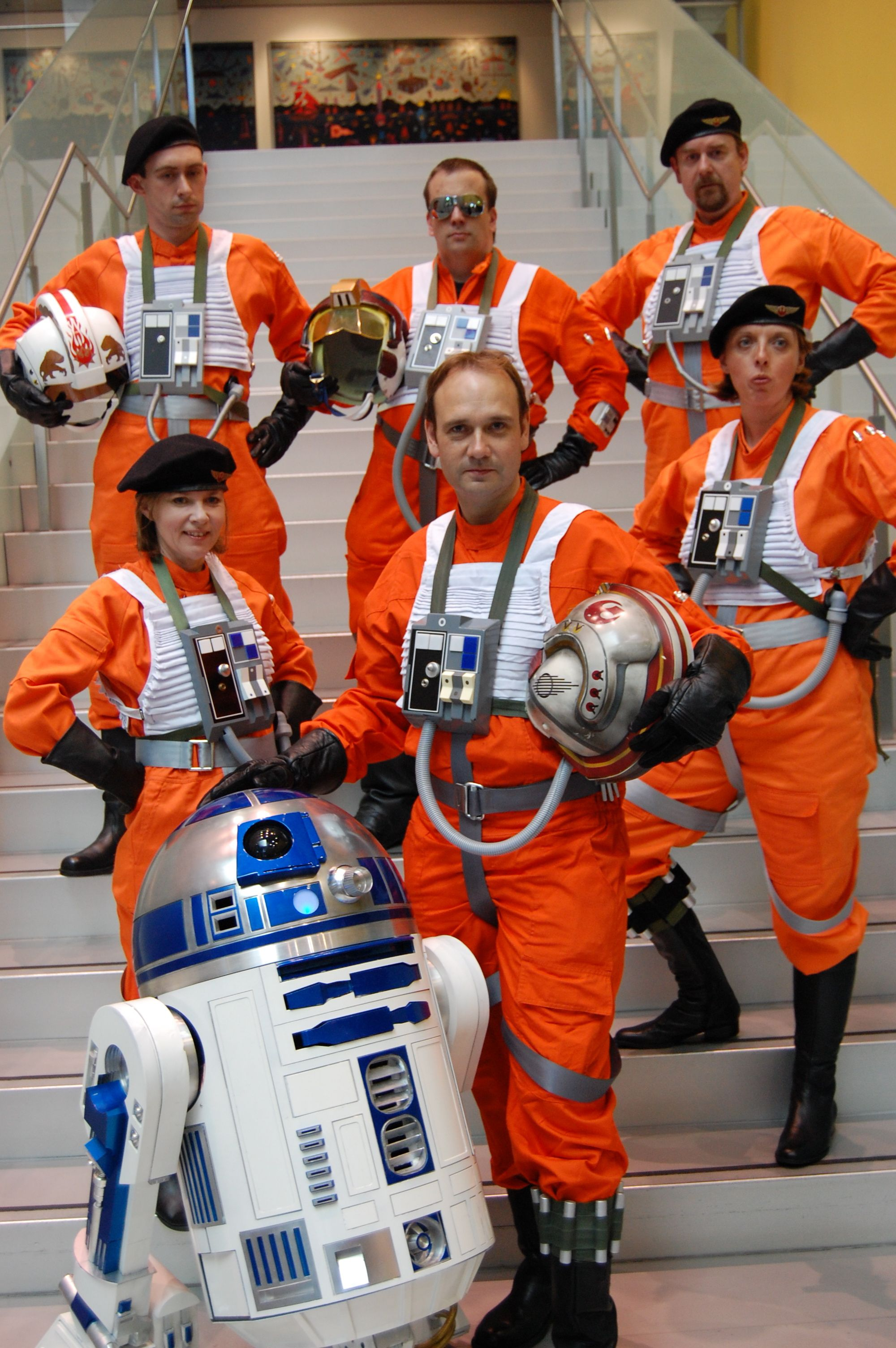 X Wing Pilots At Armageddon Melbourne Photographed By Catherine Scholz X Wing Pilot Cool Captions Fun At Work