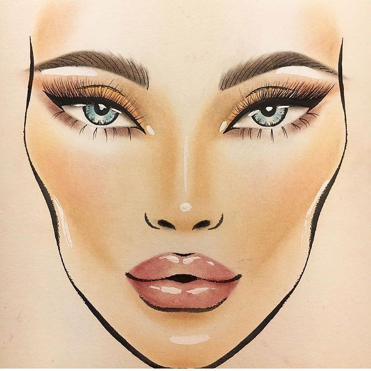 Mac Face Charts (@macfacechart) U2022 U0424u043eu0442u043e U0438 U0432u0438u0434u0435u043e U0432 Instagram | Makeup Forever Academy | Pinterest ...
