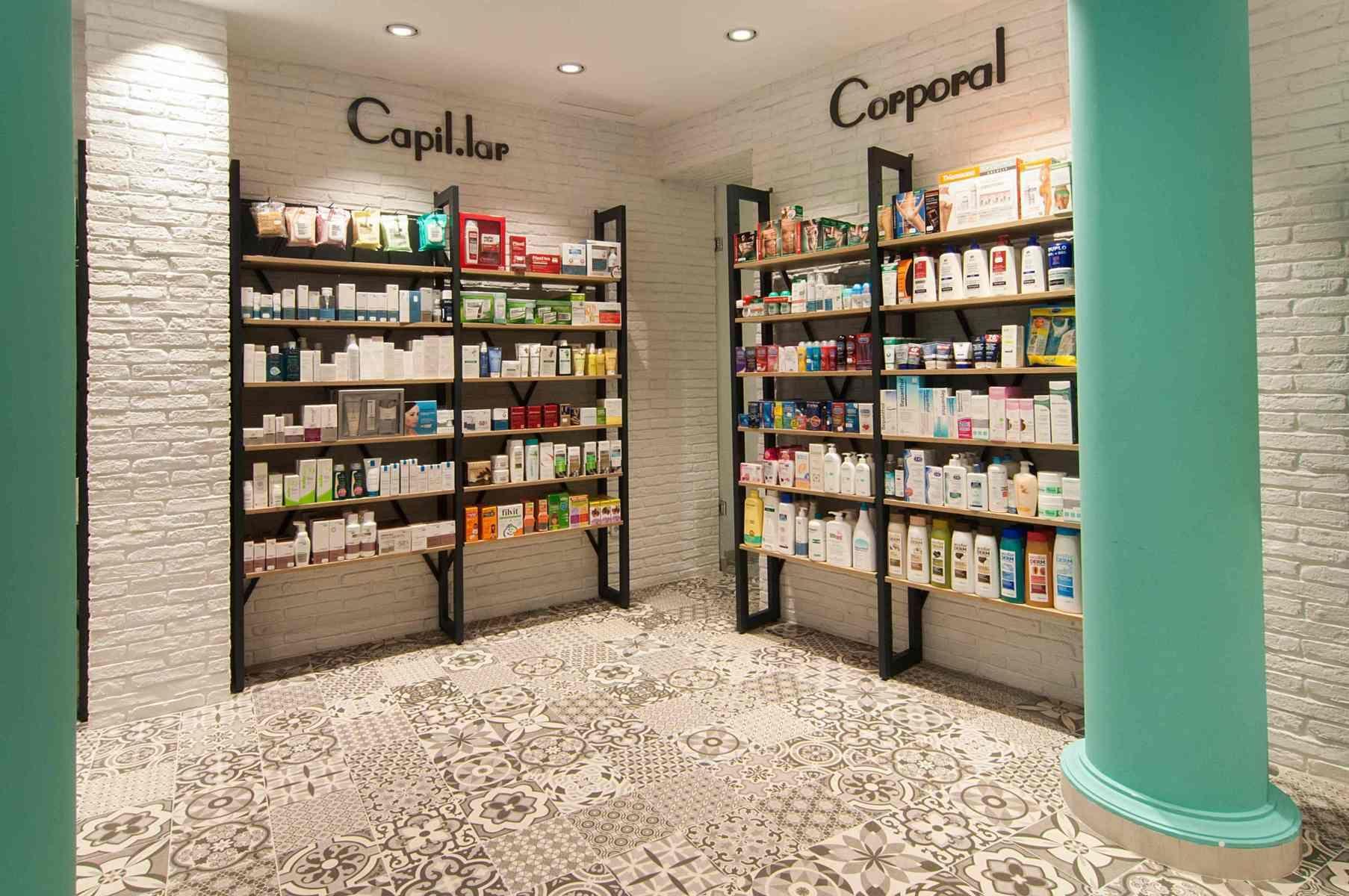 Dise O De Farmacias Modernas Mobiliario Para Farmacia Concep  # Muebles Farmacia
