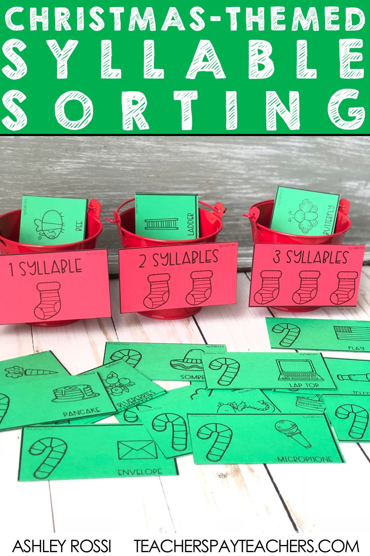 Christmas Speech And Language Activities A Sorting By