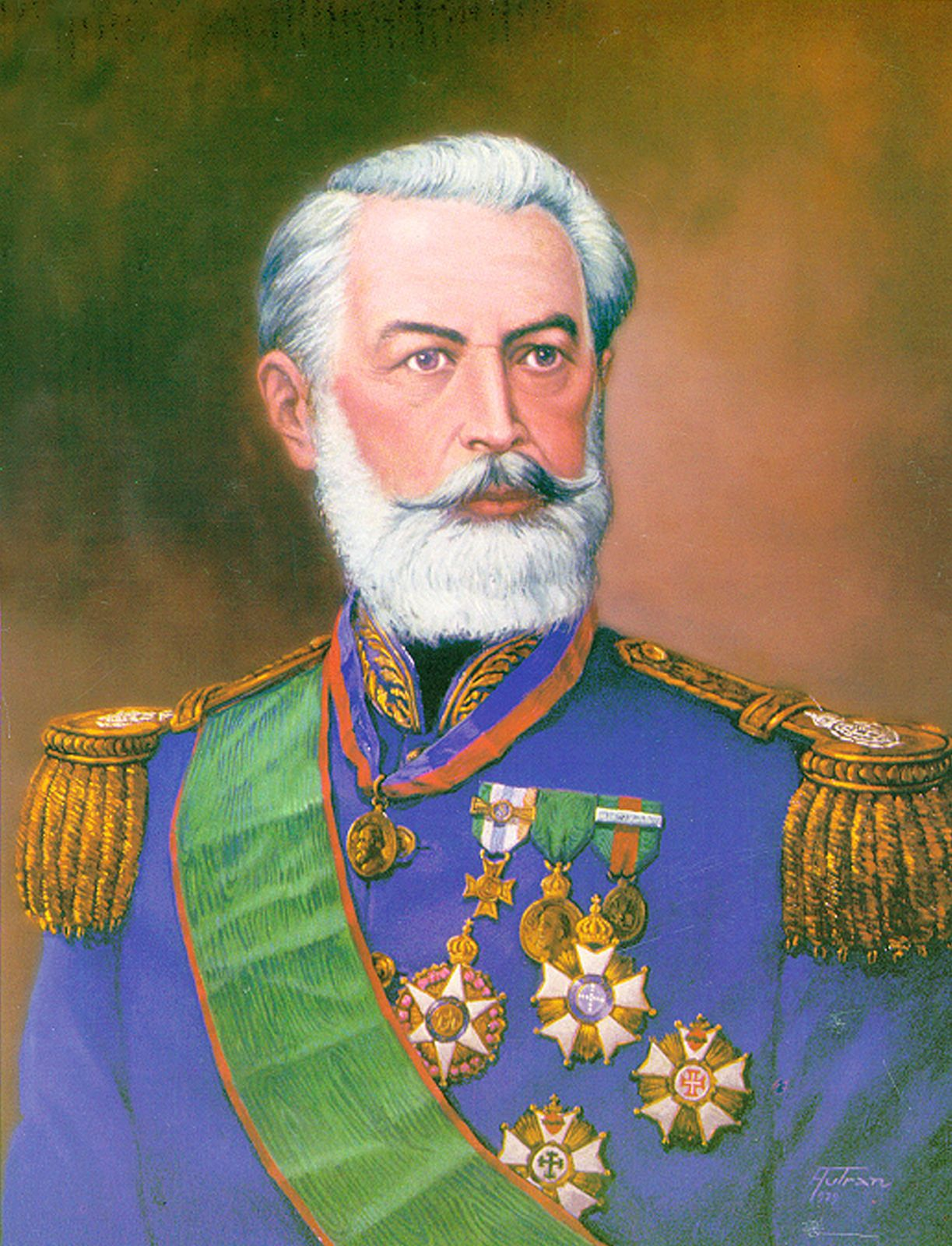 Manuel Luis Osorio Cavalaria Exercito Brasileiro Brasil Imperio