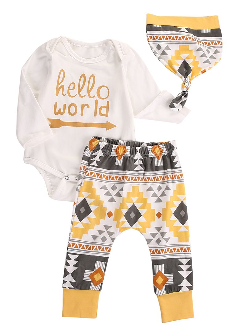 962f88e74 Click to Buy    Newborn Infant Baby Girl Boy Bodysuit Romper Pant ...