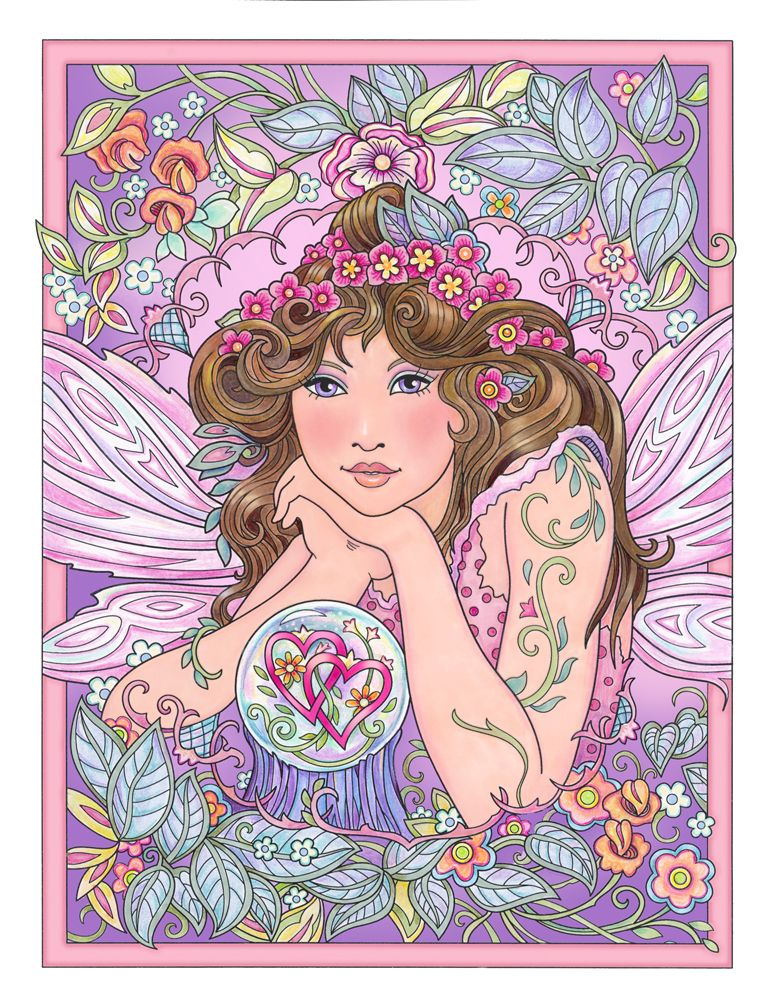 "Love Fairy from ""Magical Fairies Coloring Book"" available ..."