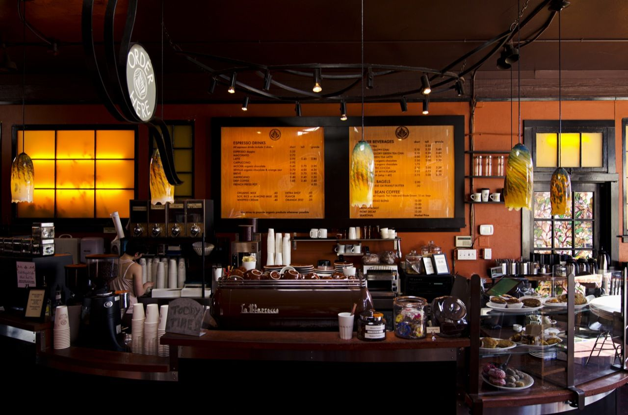 Caffè Fiore Organic Coffee Shop Seattle USA Organic