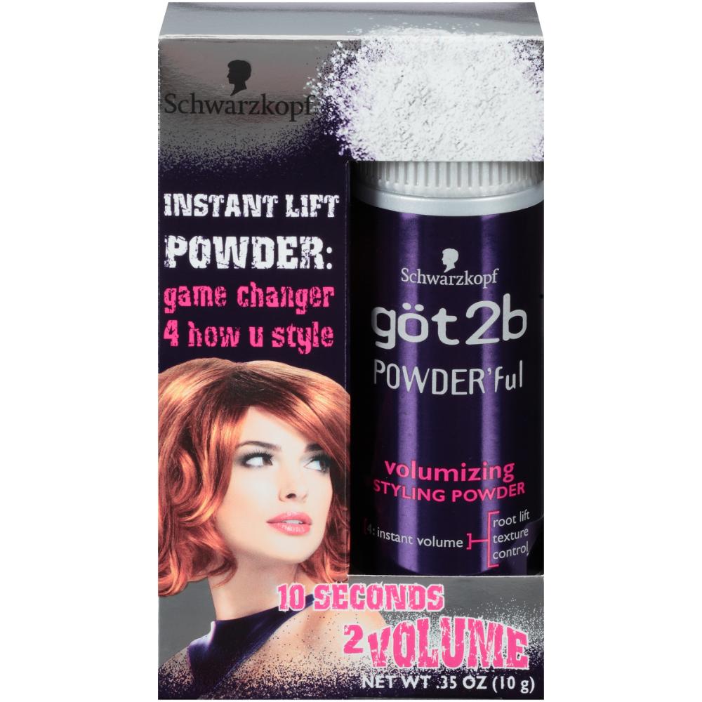 Got2b Powder Ful Volumizing Hair Styling Powder 0 35 Ounce Walmart Com In 2020 Thin Fine Hair Hair Powder Volume Hair