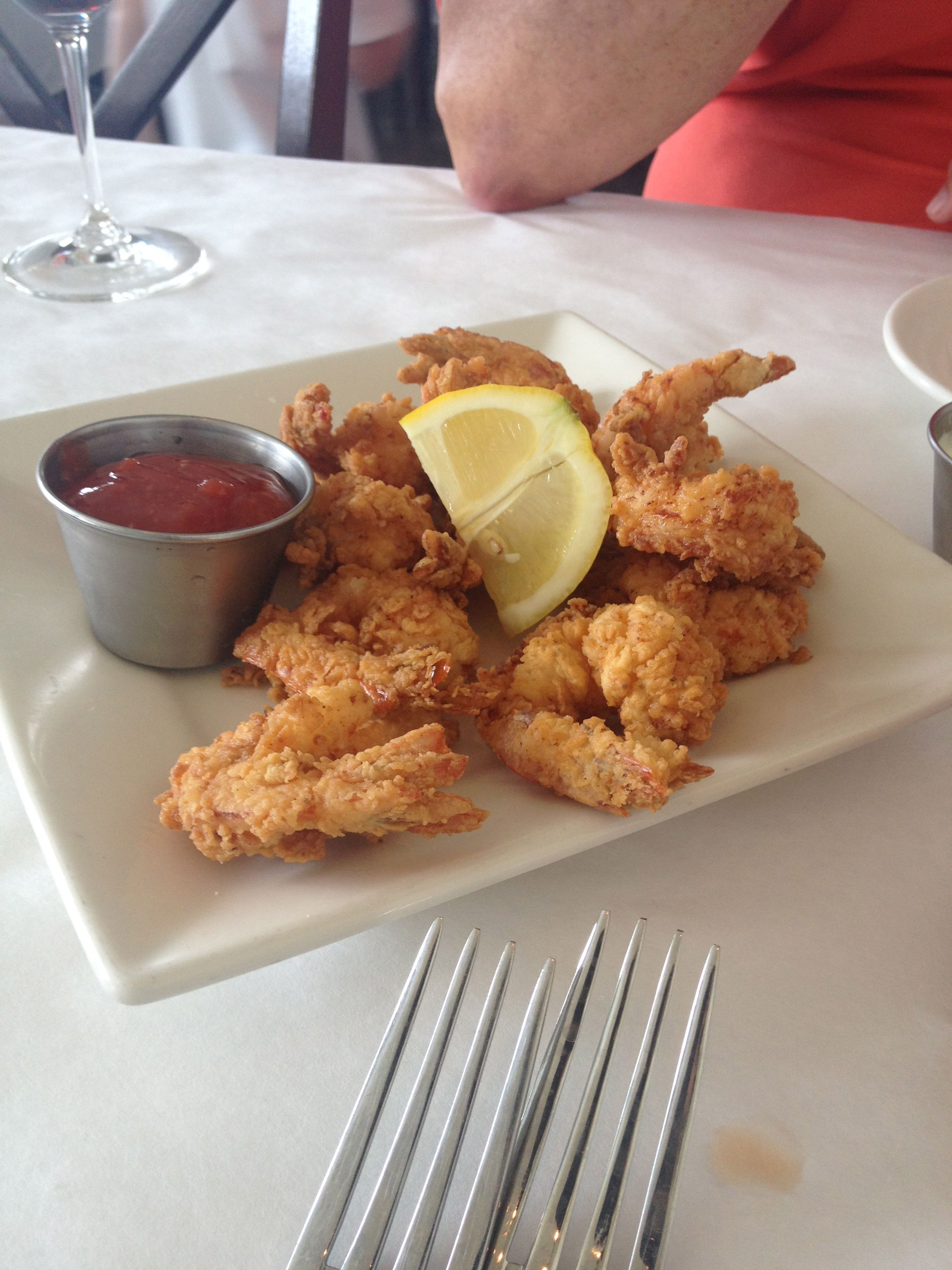 Fried shrimp appetizer at Coastal Kitchen, St. Simons Island, Ga ...