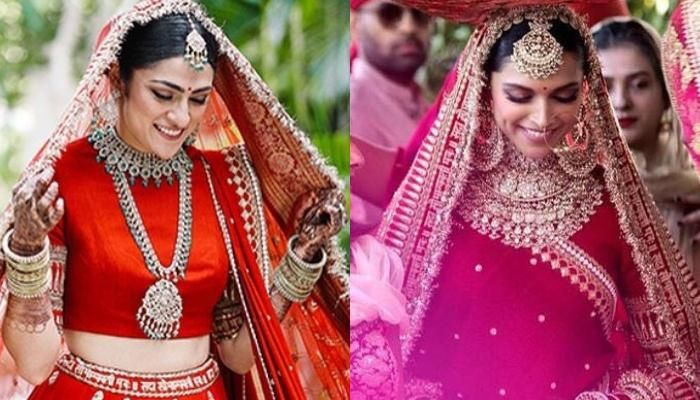 This Bride Wore A Sabyasachi Lehenga That Will Remind You ...