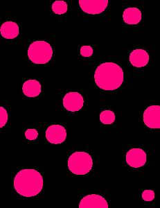polka dots clip art brushes fonts gifs pinterest clip art rh pinterest com Blue Polka Dot Clip Art black polka dot background clipart